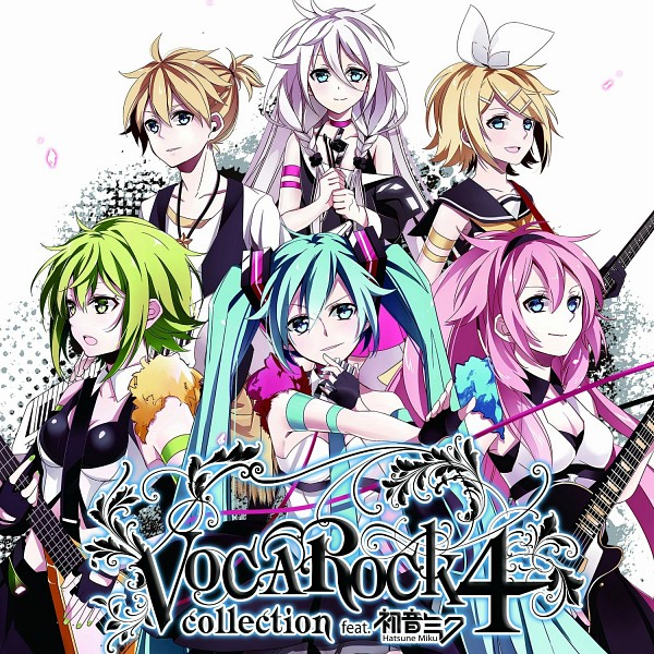 Tags: Anime, Hatsuko, VOCALOID, Megurine Luka, Hatsune Miku, IA, Kagamine Len, Kagamine Rin, GUMI, Keyboard (Instrument), Fanart, Vocarock