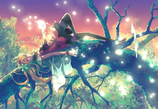 Tags: Anime, Vofan, Pixiv, Original