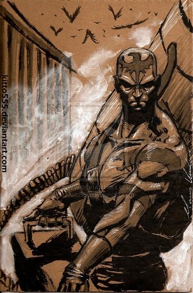 Vulcan Raven - Metal Gear Solid