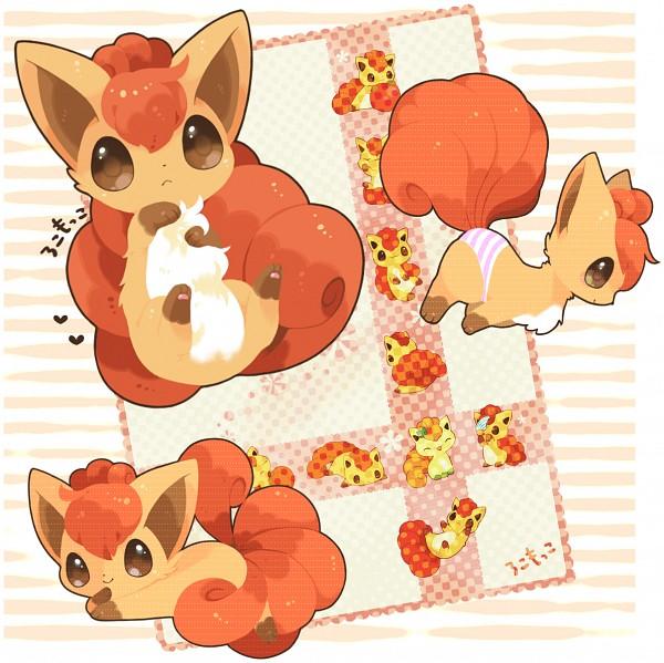 Tags: Anime, Mitiruni, Pokémon, Vulpix, Pixiv, Fanart From Pixiv, Fanart