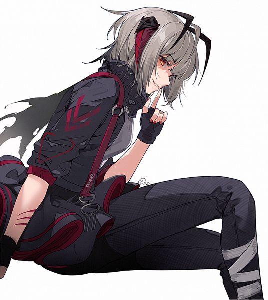 Tags: Anime, Naguri, Arknights, W (Arknights)