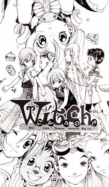 Tags: Anime, Iida Haruko, W.I.T.C.H, Hay Lin, Irma Lair, Taranee Cook, Cornelia Hale, Will Vandom, Sandwich, Manga Page, Self Scanned, Scan