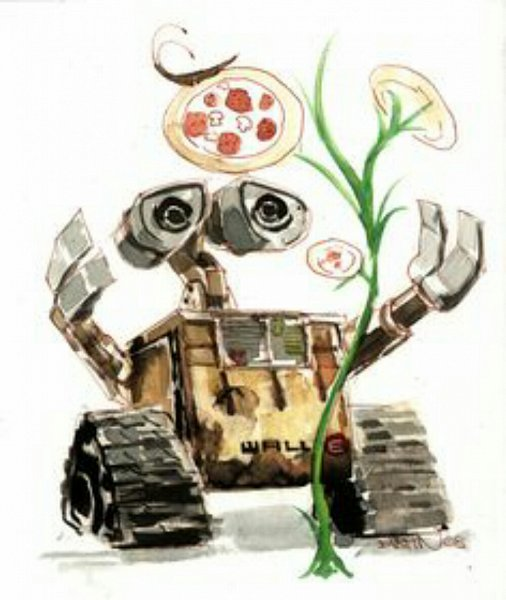 Tags: Anime, WALL-E, WALL-E (Character), Artist Request