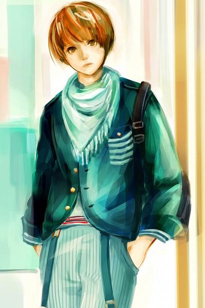 Tags: Anime, Wachi30, Striped Pants, Pixiv, Original