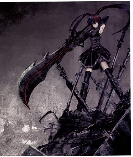 Tags: Anime, Wachi30, Black★Rock Shooter, Pixiv Girls Collection, Pixiv Girls Collection 2011, Pixiv Fantasia, Pixiv, Scan, Original
