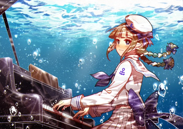 Tags: Anime, MaJiang, Oounabara to Wadanohara, Wadanohara
