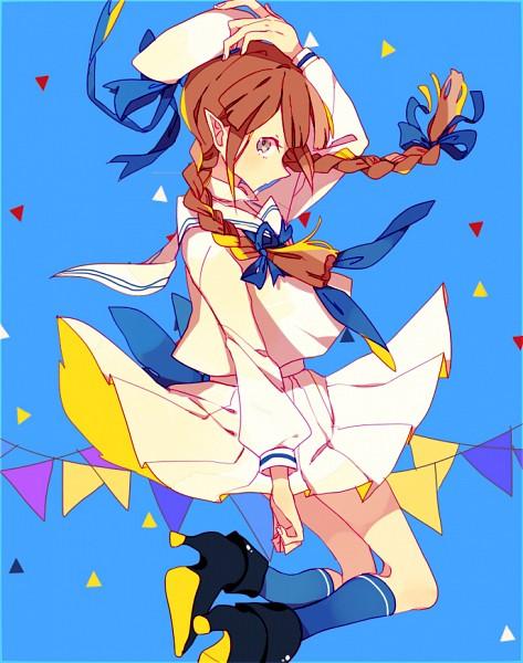 Tags: Anime, Lucarios, Oounabara to Wadanohara, Wadanohara, Tumblr, Fanart From Tumblr, Fanart