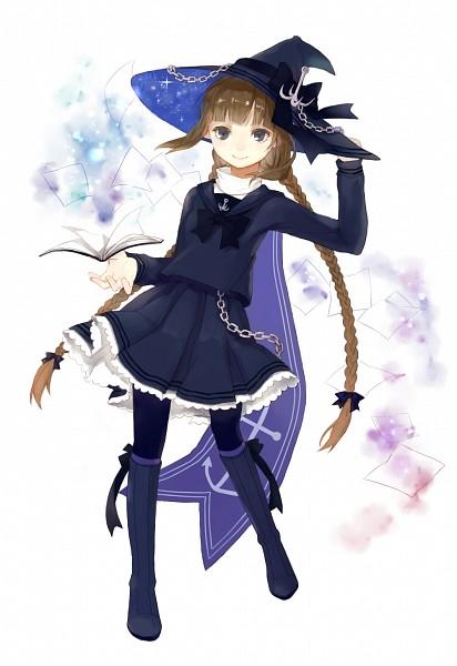 Tags: Anime, Pixiv Id 4692680, Oounabara to Wadanohara, Wadanohara, Fanart From Pixiv, Mobile Wallpaper, Pixiv, Fanart