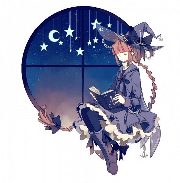 Tags: Anime, Nuuunuuu, Oounabara to Wadanohara, Wadanohara, Round Window, Tumblr, Fanart