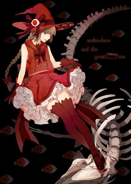 Tags: Anime, Pixiv Id 2351476, Oounabara to Wadanohara, Wadanohara, Spine (Bone), Pixiv, Fanart, Mobile Wallpaper, Fanart From Pixiv