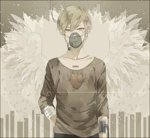 Tags: Anime, Wagashima (Pixiv4233986), Barcode, Original, Pixiv