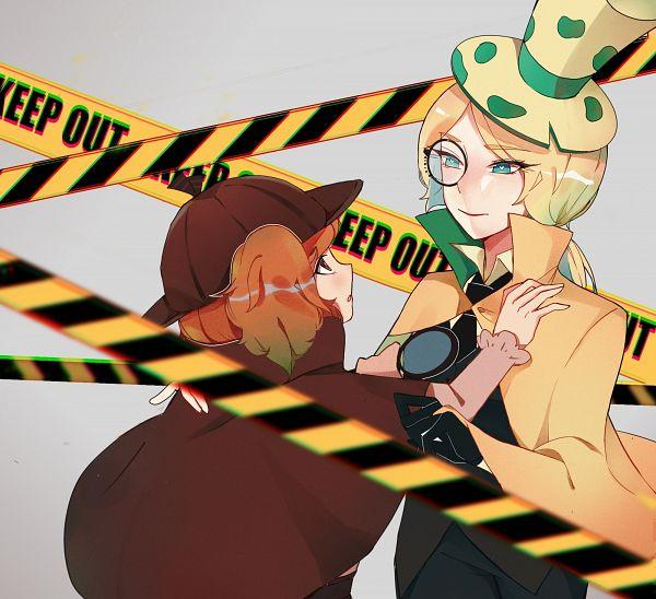 Tags: Anime, Zetataurusdegamolengdiao, Cookie Run: OvenBreak, Cookie Run, Roguefort Cookie, Walnut Cookie, Brown Headwear, Brown Hat, Magnifying Glass, Phantom Thieves, Thief, Lofter, Fanart