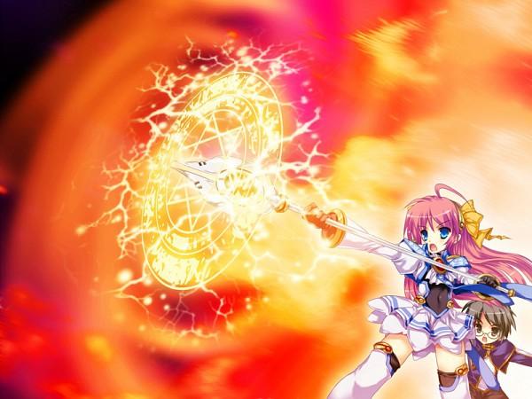 Tags: Anime, Walpurgis, Watase Ren, Minasaka Arie, CG Art