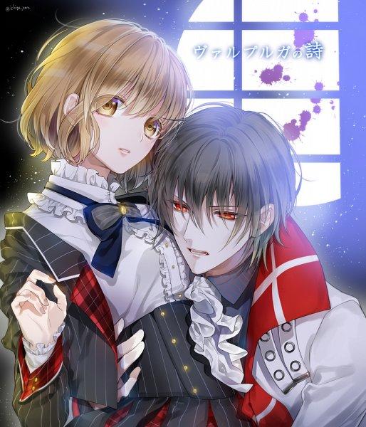 Tags: Anime, Ichige Yoru, Walpurgis no Uta ~Walpurgisgedichte~, Izumi Shio, Fins (Walpurgis no Uta), Fanart