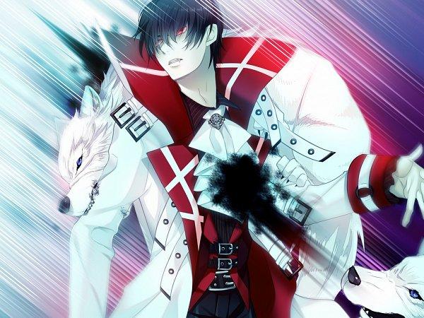 Tags: Anime, Suzuken, 3Daisy, Walpurgis no Uta ~Walpurgisgedichte~, Ogami Ryumaru, Fins (Walpurgis no Uta), Official Art, CG Art