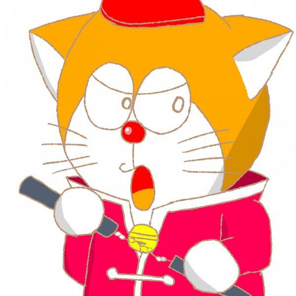 Tags: Anime, Pixiv Id 25167242, The Doraemons, Wang Dora, Nunchaku, Martial Arts, Sketch