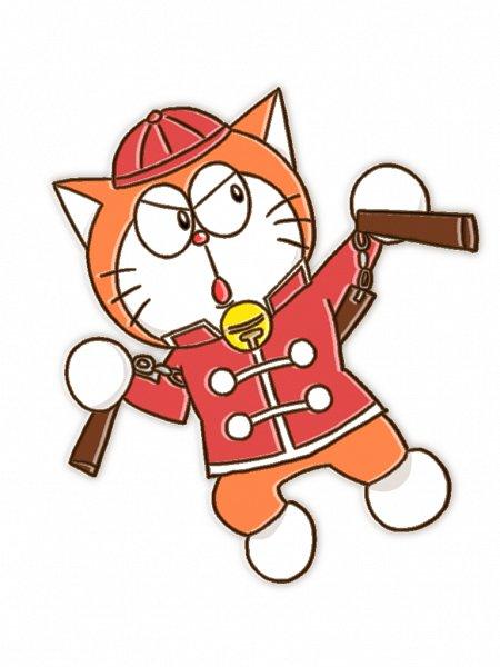 Tags: Anime, Pixiv Id 2329361, The Doraemons, Wang Dora, Nunchaku, 768x1024 Wallpaper, Wallpaper