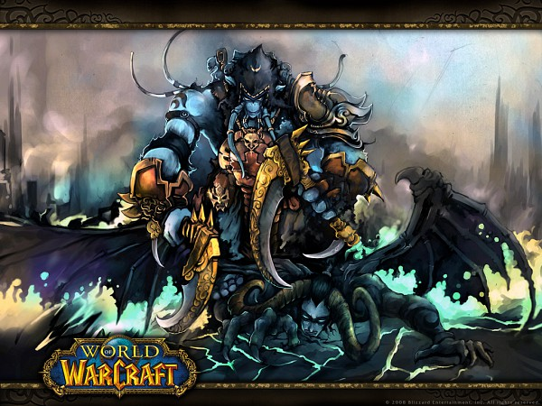 Tags: Anime, Warcraft, Akama, Illidan Stormrage, Draenei, Demon Hunter
