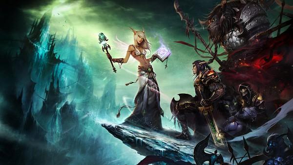 Tags: Anime, Junc0520, Warcraft, Blood Elf, Priest (Warcraft), Druid, Paladin (Warcraft), Tauren, Troll (Warcraft), Warlock (Warcraft), Troll, HD Wallpaper, Facebook Cover