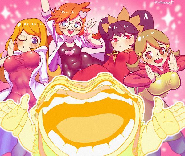 Tags: Anime, Hotaruman97, Warioware, 5-Volt, Ashley (Warioware), Mona (Warioware), Penny Crygor, Wario