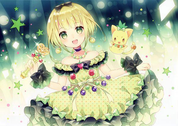 Tags: Anime, Wasabi (W.label), Mahou Shoujo☆Grimoire, Scan, Comic Market 86, Comic Market