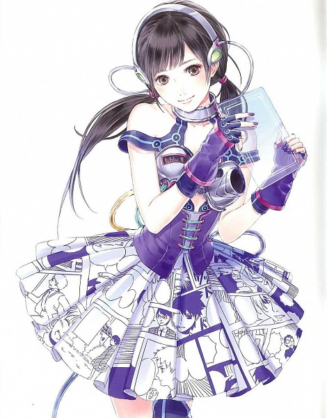 Tags: Anime, Kishida Mel, Watanabe Mayu (Character), Hikaru Monotachi, Scan, Fanart, J-Pop, AKB48