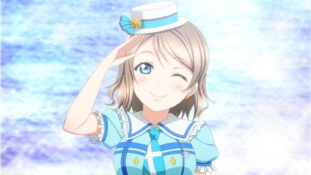 Tags: Anime, Pixiv Id 9989631, Love Live! Sunshine!!, Watanabe You, PNG Conversion, Kimi no Kokoro wa Kagayaiteru kai?