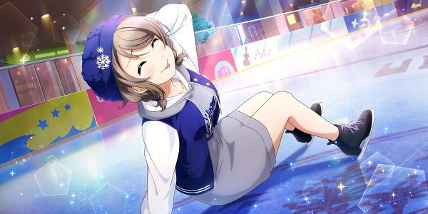 Tags: Anime, KLab, Love Live! Sunshine!!, Love Live! School Idol Festival ALL STARS, Watanabe You, Official Card Illustration, Official Art, You Watanabe