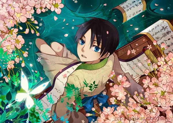 Tags: Anime, Saiyki, xxxHOLiC, Watanuki Kimihiro, Fanart, Pixiv