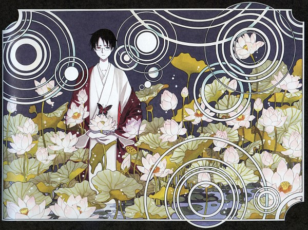 Tags: Anime, CLAMP, xxxHOLiC, Watanuki Kimihiro, Upset, Scan, Official Art