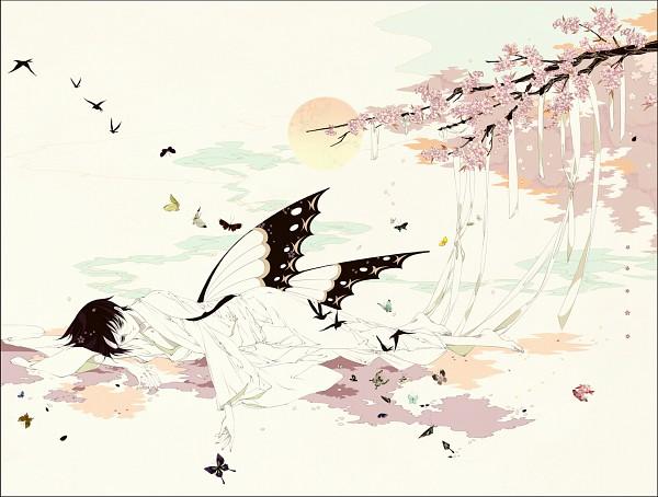 Tags: Anime, Honojiro Towoji, xxxHOLiC, Watanuki Kimihiro, Fanart, Pixiv