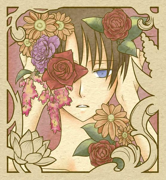 Tags: Anime, xxxHOLiC, Watanuki Kimihiro, Eye Flower