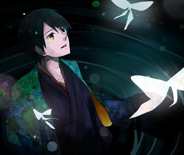 Tags: Anime, xxxHOLiC, Watanuki Kimihiro, Fanart, Pixiv