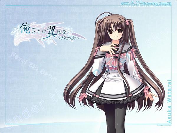 Tags: Anime, Navel (Studio), Oretachi ni Tsubasa wa Nai, Watari Asuka, Wallpaper