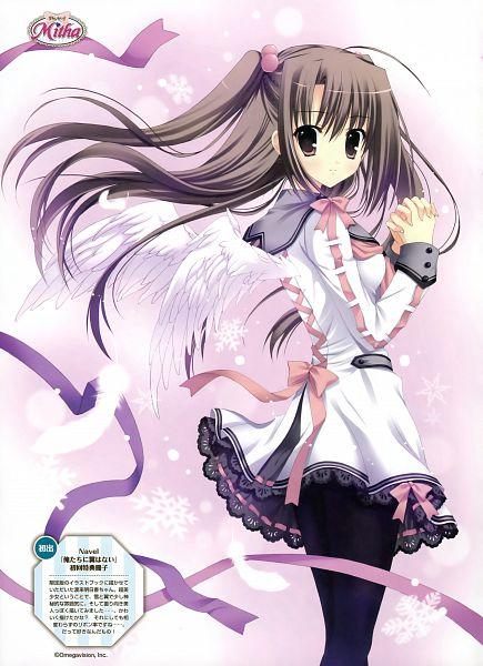 Tags: Anime, Mitha, Navel (Studio), Dengeki Moeoh 2011-08, Oretachi ni Tsubasa wa Nai, Watari Asuka, Dengeki Moeoh