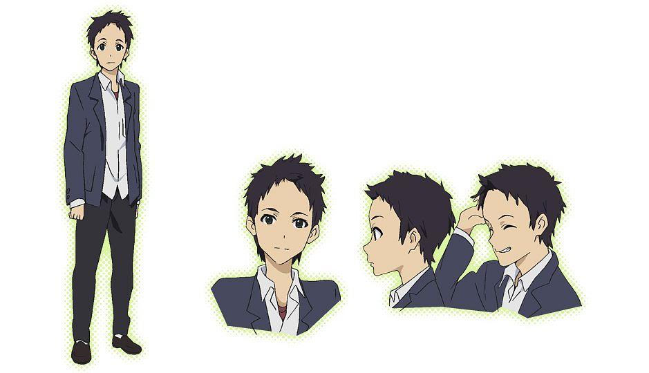 Tags: Anime, Silver Link, Kokoro Connect, Watase Shingo, Official Art