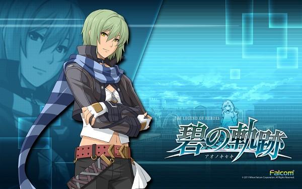 Tags: Anime, Falcom, Eiyuu Densetsu VI: Sora no Kiseki, Eiyuu Densetsu VII, Wazy Hemisphere, Official Art, Official Wallpaper, Wallpaper