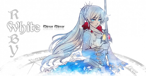 Tags: Anime, Steelgarden, RWBY, Weiss Schnee, Fanart, Pixiv, Facebook Cover