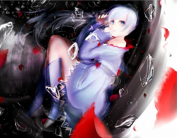 Tags: Anime, Pixiv Id 77068, RWBY, Weiss Schnee, Finger In Mouth, Fanart From Pixiv, Pixiv, Fanart