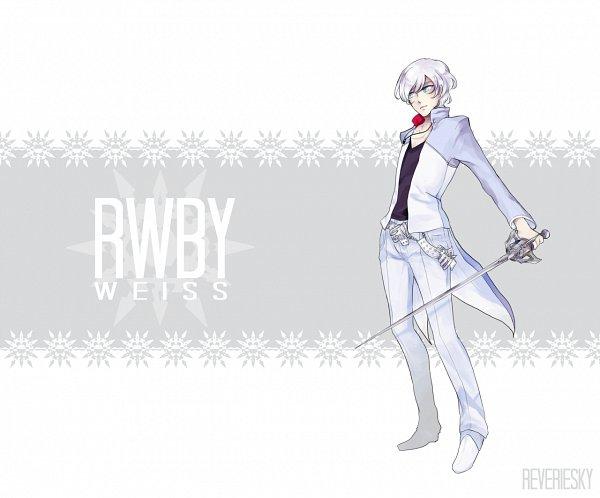 Tags: Anime, Reveriesky, RWBY, Weiss Schnee, White, Rapier, Tumblr, Fanart, Fanart From DeviantART, deviantART