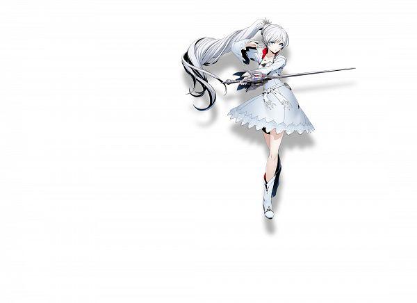Tags: Anime, Higuchi Konomi, Arc System Works, RWBY, Blazblue: Cross Tag Battle, Weiss Schnee, Rapier, Official Art