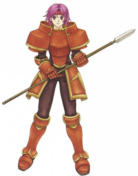 Tags: Anime, Kaneda Eiji, Fire Emblem: Fuuin no Tsurugi, Wendy (Fire Emblem), Official Art, Gwendolyn (fire Emblem)