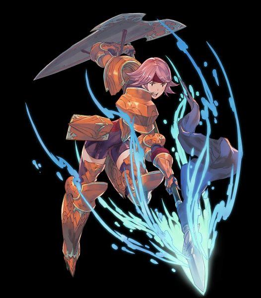 Tags: Anime, Masao Tsubasa, Intelligent Systems, Fire Emblem Heroes, Wendy (Fire Emblem), Official Art, Gwendolyn (fire Emblem)