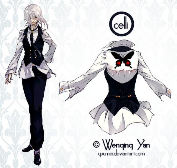 Tags: Anime, Wenqing Yan, Glowing Hair, Pixiv, Original