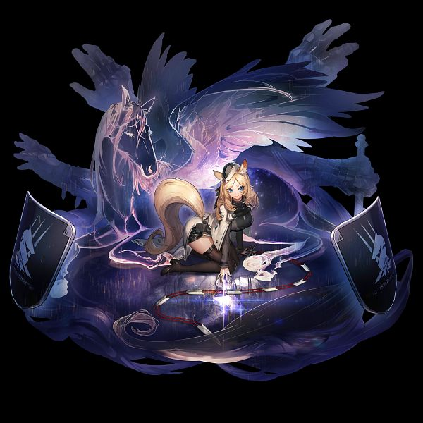 Tags: Anime, Ryuuzaki Ichi, HyperGryph, Arknights, Whislash, Official Art