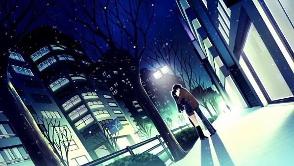 Tags: Anime, White Album 2, Touma Kazusa, Kitahara Haruki, Wallpaper, CG Art
