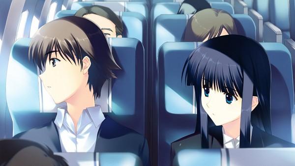 Tags: Anime, White Album 2, Touma Kazusa, Wallpaper, CG Art