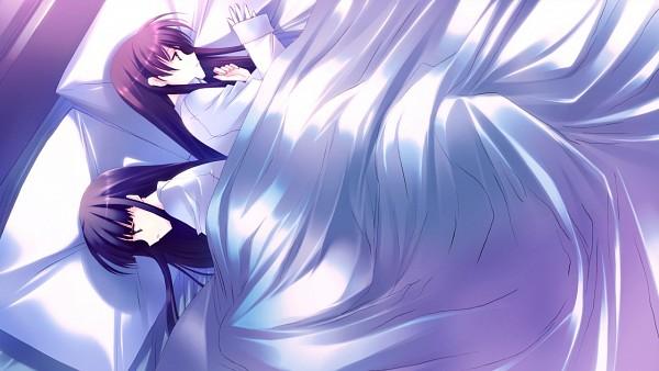 Tags: Anime, White Album 2, Ogiso Setsuna, Touma Kazusa, CG Art, Wallpaper