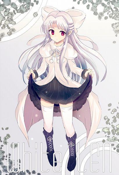 Tags: Anime, Yodori, TYPE-MOON, French-Bread (Studio), Melty Blood, White Len, Fanart, Pixiv