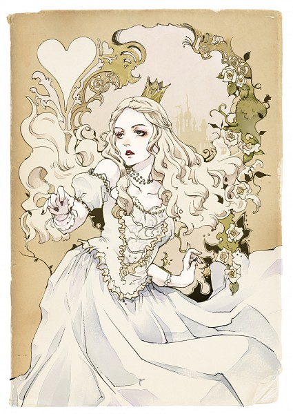 White Queen - Alice in Wonderland